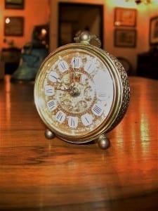 20C German Travel Clock (2)