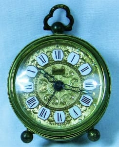 Early 20C - Miniature German Clock