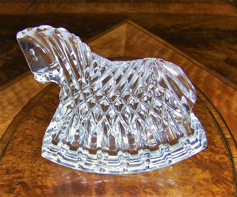 Waterford Crystal Horse