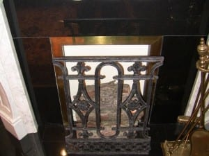 Irish White Marble Fireplace - Complete (5)