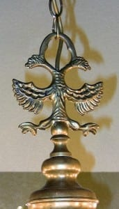 19C Dutch Baroque Brass 12 Arm Chandelier (3) - Copy