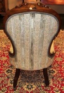 Early 19C French Louis XVI Walnut Boudoir/Bedroom Chair