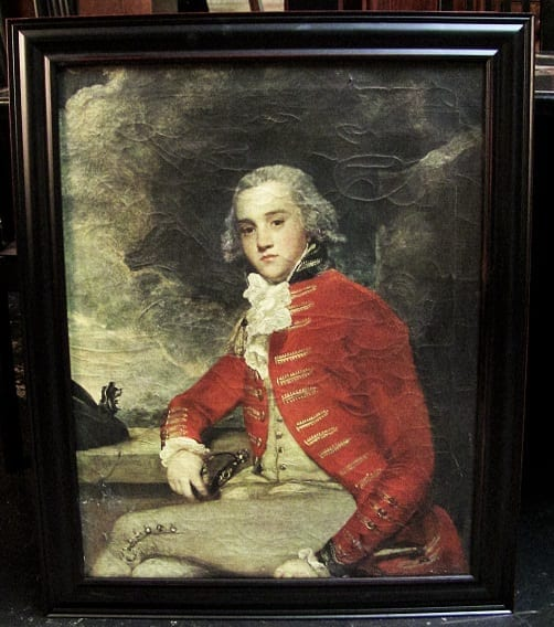 Reproduction Portrait of Captain William Bligh by Sir Joshua Reynolds
