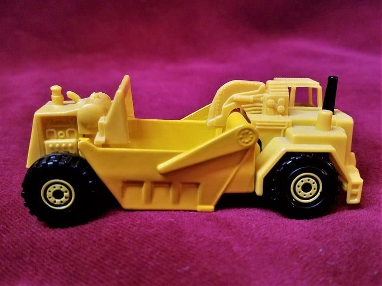 Vintage 1986 Hot Wheels Construction Truck Rockwell